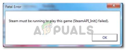 Fix: Steam muss laufen, um dieses Spiel zu spielen
