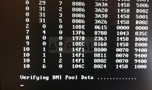 Fix: Überprüfen des DMI-Pool-Datenfehlers