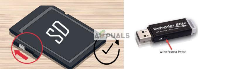 Fix: Diese Festplatte ist schreibgeschützt