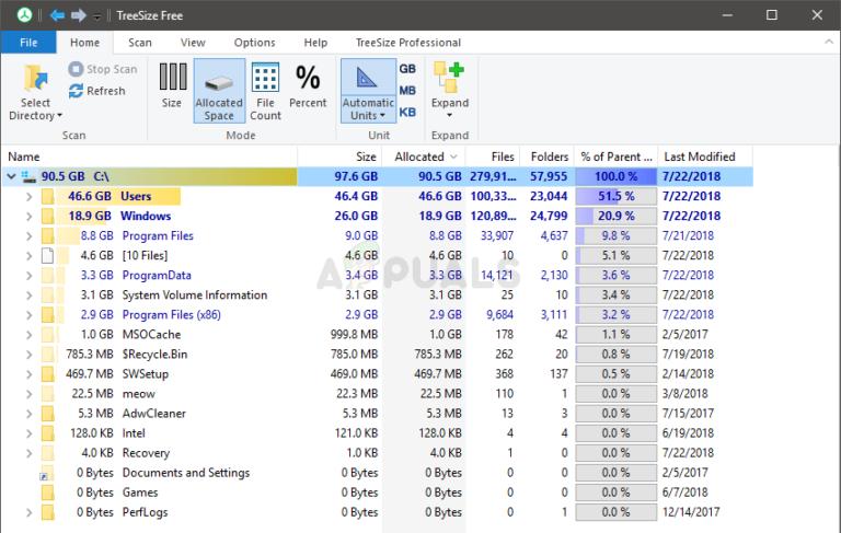 So beheben Sie Probleme mit der Ordnergröße unter Windows 10