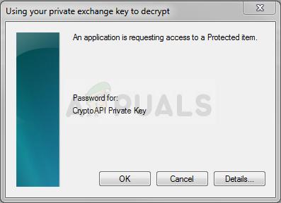 So lösen Sie 'Eine Anwendung fordert den Zugriff auf ein geschütztes Element an'