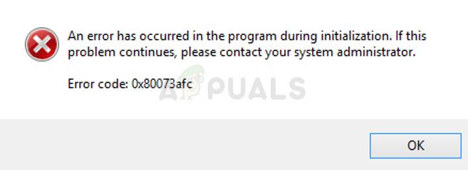 So beheben Sie den Windows Defender-Fehlercode 0x80073afc