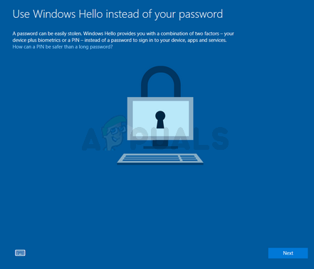 Fix: Windows 10 Pin-Eingabeaufforderung beim Start erstellen