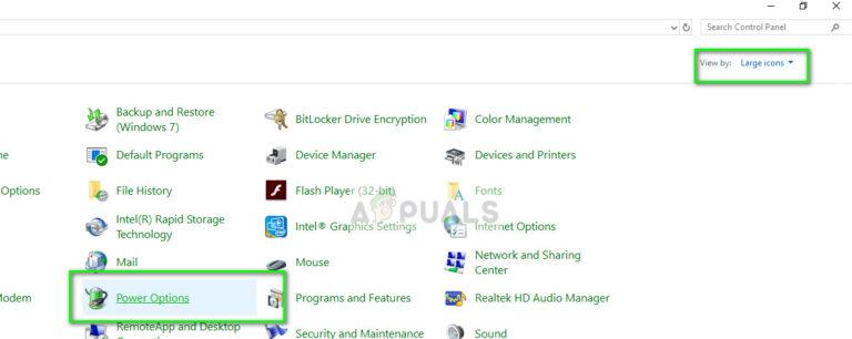 Fix: Schwarzer Bildschirm nach dem Ruhezustand Windows 10