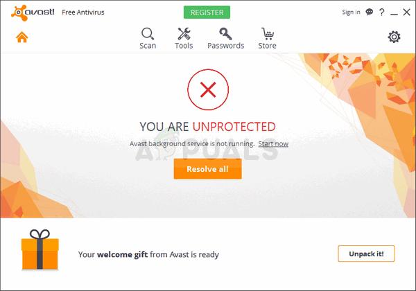 So beheben Sie, dass der Avast-Hintergrunddienst nicht ausgeführt wird