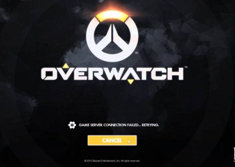 Fix: Overwatch konnte keine Verbindung zum Server herstellen