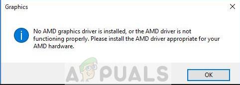 Fix: Es ist kein AMD-Grafiktreiber installiert