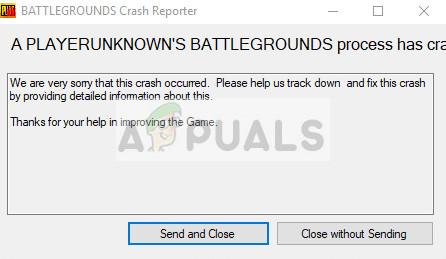 Fix: PUBG Crashing – Appuals.com