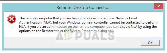 Fix: Der Remotecomputer erfordert eine Authentifizierung auf Netzwerkebene