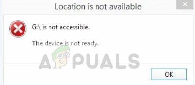 Fix: Das Gerät ist unter Windows 7, 8 und 10 nicht bereit