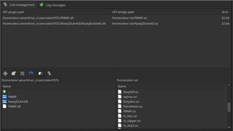 Verwendung von Windows VSTs in den neuesten Linux-Native-Builds von REAPER 5.93