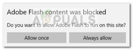 Aktivieren oder Deaktivieren von Windows 10 Flash Player unter Microsoft Edge