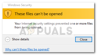 Fix: Diese Dateien können nicht geöffnet werden
