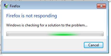Fix: Firefox reagiert nicht