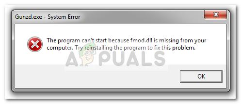 Fix: fmod.dll fehlt – Appuals.com