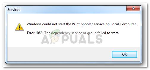 Fix: Spooler Service Fehler 1068