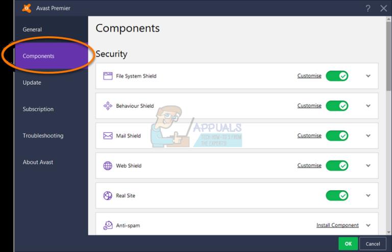 Fix: Avast Service Hohe CPU-Auslastung