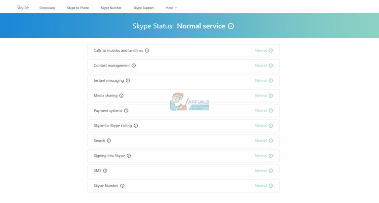Fix: Skype-Nachrichten werden nicht gesendet