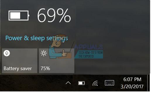 Fix: Power / Battery Icon Windows 10 fehlt