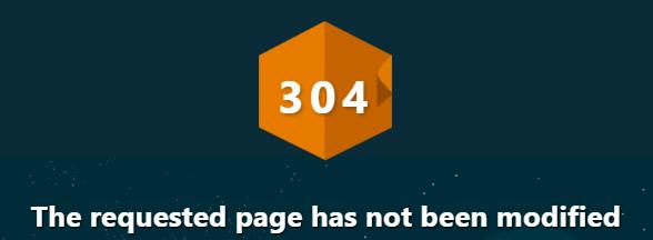 Was ist: HTTP 304 Nicht geändert