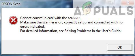 Fix: Epson Scan kann nicht mit dem Scanner kommunizieren