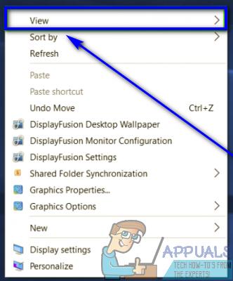 So verkleinern Sie Symbole unter Windows 10