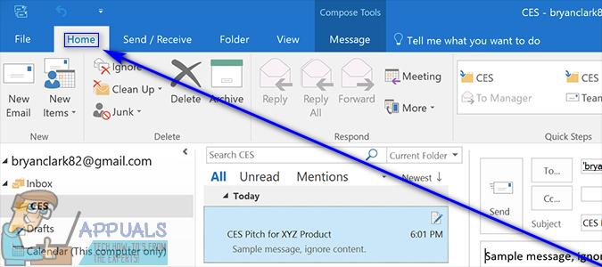 So blockieren Sie unerwünschte E-Mails in Outlook