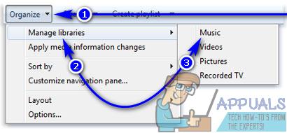 Hinzufügen von Musik zur Windows Media Player-Bibliothek