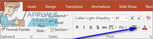 So markieren Sie Text in PowerPoint