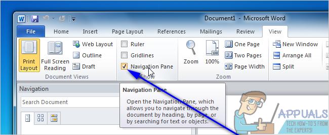 So verschieben Sie Seiten in Microsoft Word