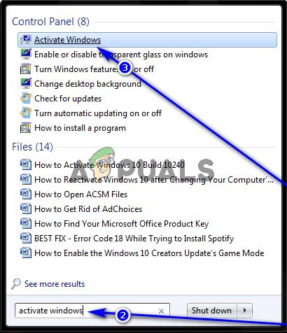So validieren Sie Windows 7