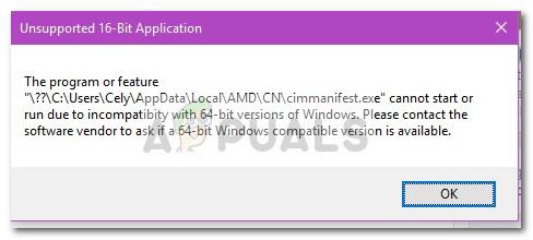 Was ist cimmanifest.exe – Appuals.com