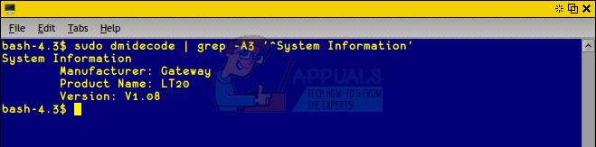 So finden Sie heraus, welches Motherboard Sie unter Linux oder Ubuntu haben