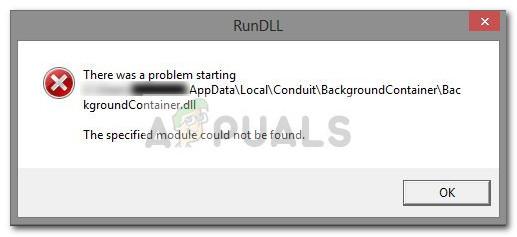 Fix: Führen Sie den DLL BackgroundContainer.dll-Fehler aus