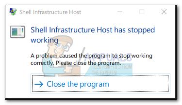 Fix: Shell Infrastructure Host funktioniert nicht mehr