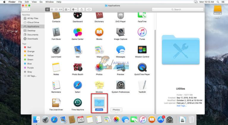Gewusst wie: Passwort Schützen Sie einen Ordner unter MacOS