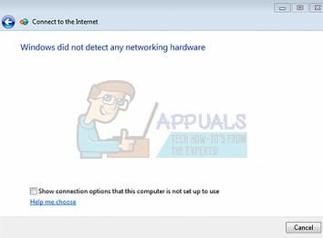 Fix: Windows hat keine Netzwerkhardware erkannt