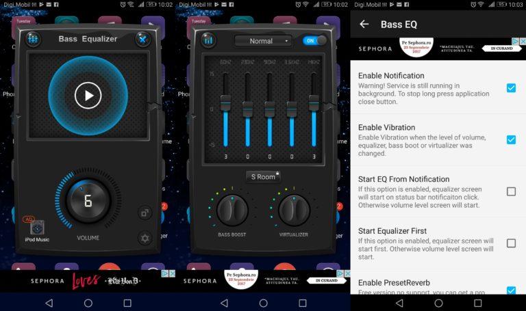 Die besten Android Equalizer Apps