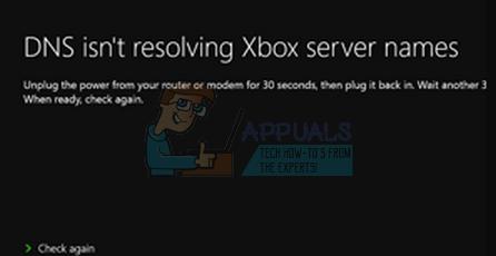 Fix: DNS löst keine Xbox-Servernamen auf