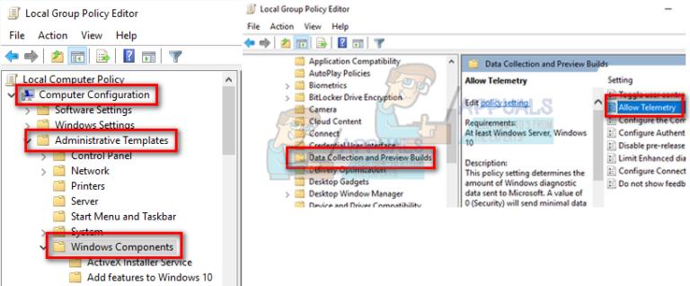 Fix: Microsoft Compatibility Telemetry Hohe Festplattennutzung Windows 10