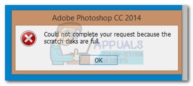 """So beheben Sie den Photoshop-Fehler """"Arbeitsdisketten sind voll"""""""