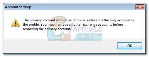 So ändern oder entfernen Sie das primäre Konto in Outlook