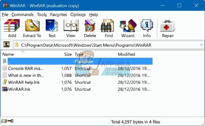 So deinstallieren Sie WinRar unter Windows 7/8/10