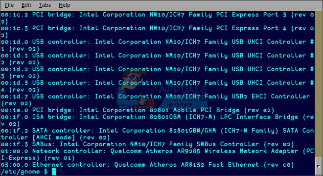 So überprüfen Sie PCI-Steckplätze unter Linux