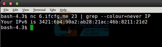 So finden Sie meine externe IP-Adresse unter Linux