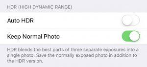 So aktivieren Sie die manuelle HDR-Kamera unter iOS 11