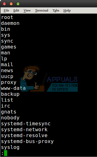 So zeigen Sie eine Liste der Benutzer unter Linux an