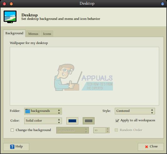 Fix: Lost Desktop Wallpaper unter Linux