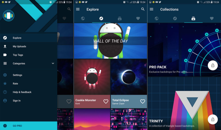 Top 5 Wallpaper Apps für Android