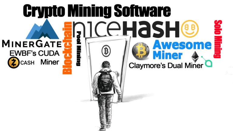 So wählen Sie die zu verwendende Mining-Software aus
